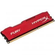 MEMÓRIA 4GB DDR3 1866GHZ CL10 HYPERX FURY RED SERIES HX318C10FR/4 - KINGSTON
