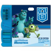 KIT DE PINTURA MONSTROS UNIVERSITY BR061 - MULTIKIDS