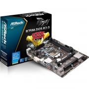 PLACA MÃE 1155 DDR3  USB 3.0/ 2.0 B75M-DGS (S/V/R) - ASROCK