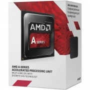 PROCESSADOR FM2 A4 7300 DUAL CORE 3.80GHZ (4.0GHZ MAX TURBO) AD7300OKHLBOX - AMD