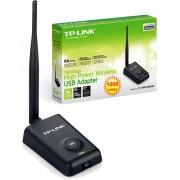 ADAPTADOR DE REDE SEM FIO USB 150 MBPS HIGH POWER WIRELESS TL-WN7200ND PRETO - TP-LINK