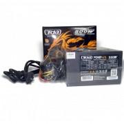 FONTE ATX 500W REAL POWER GAMING SERIES ATX500WP4 - TDA