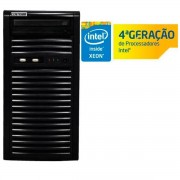 SERVIDOR TORRE INTEL SC-T1200 QUAD CORE XEON 1220V3 HT 3.10GHZ 4GB UDIMM 500GB DVD-RW - CENTRIUM