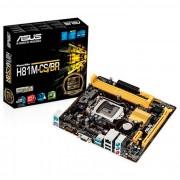 PLACA MÃE 1150 H81M-CS/BR DDR3 USB3.0 (S/V/R) - ASUS