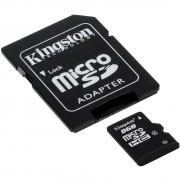 CARTÃO DE MEMÓRIA MICRO SD 8GB COM ADAPTADOR CLASS 10 45MB/S R SDC10G2/8GB - KINGSTON