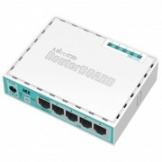 ROUTER BOARD C/ CASE RB750GR2 HEX BRANCO - MIKROTIK