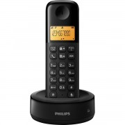 TELEFONE SEM FIO COM ID D1301B/BR PRETO - PHILIPS