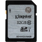 CARTÃO DE MEMÓRIA SD 32GB CLASS 10 SD10VG2/32GB - KINGSTON