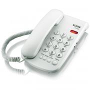 TELEFONE DE MESA COM FIO E BLOQUEADOR TCF-2000 BRANCO - ELGIN