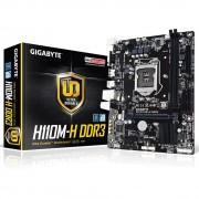 PLACA MÃE 1151 H110M-H DDR3 USB3.0 HDMI (S/V/R) - GIGABYTE