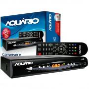CONVERSOR DE SINAL DIGITAL DE TV FULL HD DTV-8000 PRETO - ÁQUARIO