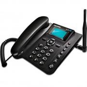 TELEFONE CELULAR RURAL DE MESA QUADRIBAND CA4000 PRETO CA-40 - AQUÁRIO