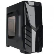 GABINETE 3 BAIAS SEM FONTE ATX GAMER HTL018B06S PRETO - PIXXO