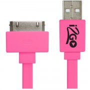 CABO PARA IPHONE 4/4S, IPAD 1/2 I2GCBL036 - I2GO