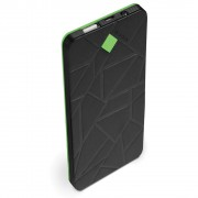 CARREGADOR POWER BANK PORTÁTIL USB 4000MAH PB-L4000 PRETO/VERDE - C3 TECH