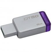 PEN DRIVE DATATRAVELER USB 3.1 8GB DT50/8GB ROXO -  KINGSTON