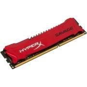 MEMÓRIA HYPERX SAVAGE 8GB 1866MHZ DDR3 CL9 HX318C9SR/8 VERMELHA - KINGSTON