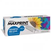 GRAMPO 26/6 CAIXA COM 5000 UND GALVANIZADO 712094 - MAXPRINT
