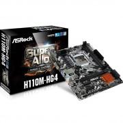 PLACA MÃE 1151 H110M-HG4 DDR4 HDMI USB3.0 (S/V/R) - ASROCK