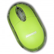 MOUSE ÓPTICO USB 6012034 VERDE - MAXPRINT