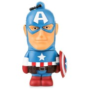 PEN DRIVE 8GB MARVEL CAPITÃO AMÉRICA PD080 - MULTILASER