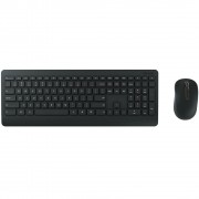 TECLADO + MOUSE MULTIMÍDIA BASIC ÓPTICO WIRELESS DESKTOP 900 BLACK PT3-00005 - MICROSOFT