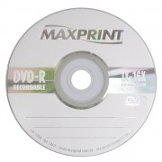 DVD-R 4.7GB 16X 120 MINUTOS RECORDABLE (UNIDADE) 50606-6 - MAXPRINT