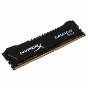 MEMÓRIA 4GB DDR4 2400MHZ CL12 HYPERX SAVAGE HX424C12SB2/4 PRETO - KINGSTON