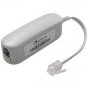 FILTRO MICRO PARA LINHA TELEFÔNICA COM ADSL SIMPLES ADP0101 - MICROBON