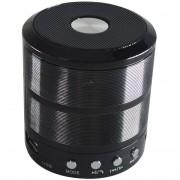 CAIXA DE SOM BLUETOOTH V3.0 5W RMS ENTRADA USB, P2 E RADIO FM CX0222GPB PRETO D-BH887 - GRASEP