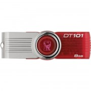 PEN DRIVE 8GB USB2.0 DATA TRAVELER 101 DT101G2/8GBZ VERMELHO - KINGSTON