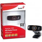 WEBCAM FACECAM 1020 VIDEO 720P HD COM MIC USB 32200010102 - GENIUS
