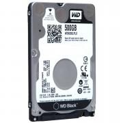 HD PARA NOTEBOOK 500GB SATA III 7200RPM BLACK WD5000LPLX - WESTERN DIGITAL