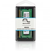 MEMÓRIA PARA NOTEBOOK 4GB CL11 12800 PC3L DDR3 1600MHZ MM420 - MULTILASER