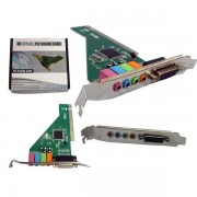 PLACA DE SOM PCI COM 4 CANAIS SK-CR4280 SK-CR4280 - LOTUS