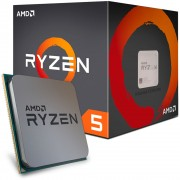 PROCESSADOR AM4 RYZEN 5 1400 QUAD CORE 3.2GHZ 8MB (MAX TURBO 3.4GHZ) YD1400BBAEBOX - AMD