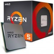 PROCESSADOR AM4 RYZEN 5 1600 SIX CORE 3.2GHZ 16MB (MAX TURBO 3.6GHZ) YD1600BBAEBOX - AMD