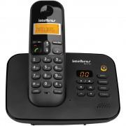 TELEFONE SEM FIO COM SECRETÁRIA ELETRÔNICA TS3130 PRETO - INTELBRAS