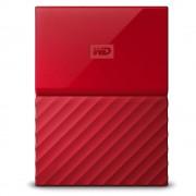 HD EXTERNO 1TB PORTÁTIL MY PASSPORT USB 3.0 WDBYNN0010BRD-WESN VERMELHO - WESTERN DIGITAL
