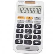 CALCULADORA DE MESA 8 DIGITOS MX-C84B BRANCA 75466-6 - MAXPRINT