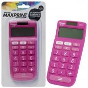 CALCULADORA DE MESA 8 DIGITOS MX-C84P ROSA 75467-1 - MAXPRINT