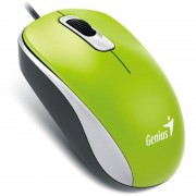 MOUSE ÓPTCO USB 1000DPI WIRED DX-110 VERDE 31010116105 - GENISUS