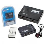 SWITCH HDMI 1.4 5 ENTRADAS E 1 SAÍDA 1.4B PRETO HUB0010 - GENERICO