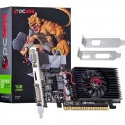 PLACA DE VÍDEO PCIEXP2.0 NVIDIA GEFORCE GT210 1GB DDR3 64-BITS LOW PROFILE N21T2GD364LP - PCYES