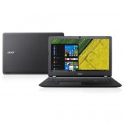 NOTEBOOK ASPIRE ES1-533-C76F CELERON QUAD CORE N3450 4GB DDR3 500GB DVD-RW WINDOWS 10 PRETO - ACER