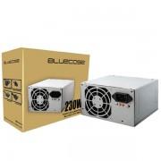 FONTE ATX 230W SEM CABO BLU230-T ATX SMALL - BLUECASE