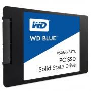 SSD 250GB WD BLUE SATA III 6GB/S 540MB/S E 500MB/S WDS250G1B0A - WESTERN DIGITAL