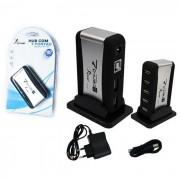 HUB USB 7 PORTAS COM FONTE HB-T68 - KNUP