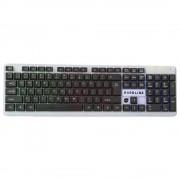 TECLADO GAMER HARDLINE USB 2.0 62 4704 - DAZZ