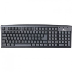 TECLADO PS/2 PRETO 01824 - BRIGHT